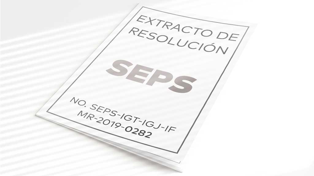 Extracto de Resolución SEPS 0282 Cooperativa La Merced