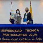 Firma de Convenio UTPL